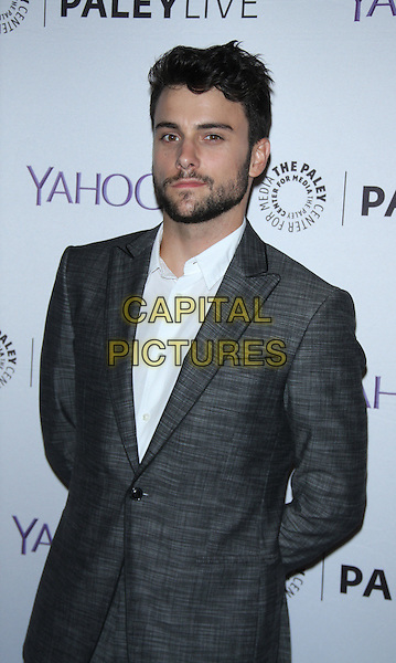 NEW YORK, NY - NOVEMBER 12: Jack Falahee, at PaleyLive NY Presents the cast of How to Get Away with Murder at the Paley Center for Media in New York City on November 12, 2015. <br /> CAP/MPI/RW<br /> &copy;RW/MPI/Capital Pictures