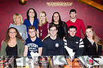 Kingdom Greyhound Tote Staff Christmas party at Restaurant Uno on Saturday Front l-r Lisa Kerins, Dara McMahon, Frank O'Donnell, Cian Casey, Sinead Casey Back l-r Noreen Murphy, Geraldine Cotter,  Noelle O Sullivan, Moira Nolan and John Murphy