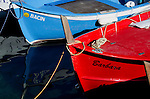 Italina riviera fishing boats