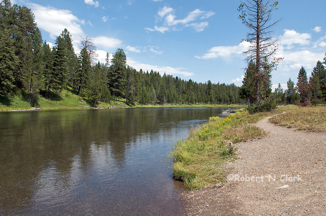 Upper Coffepot Campground on the Henry's Fork