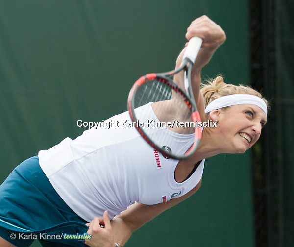 March 24 2016:  Tamea Bacsinszky (SUI) defeats Margarita Gasparyan (RUS) by 6-3, 6-1, at the Miami Open being played at Crandon Park Tennis Center in Miami, Key Biscayne, Florida.