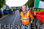 Brendan Griffin from Ardfert at the Ardfert Tractor Run fundraiser for the staff of UHK on Sunday.