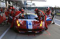 #83 AF CORSE (ITA) FERRARI F458 ITALIA LMGTE AM FRANÇOIS PERRODO (FRA) EMMANUEL COLLARD (FRA) RUI AGUAS (PRT)