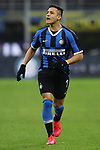 Alexis Sanchez of Inter during the Coppa Italia match at Giuseppe Meazza, Milan. Picture date: 12th February 2020. Picture credit should read: Jonathan Moscrop/Sportimage