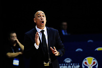 New Zealand Head Coach Paul Henare during the FIBA World Cup qualifier between the New Zealand Tall Blacks and South Korea at TSB Bank Arena in Wellington, New Zealand on Thursday, 23 November 2017. Photo: Dave Lintott / lintottphoto.co.nz