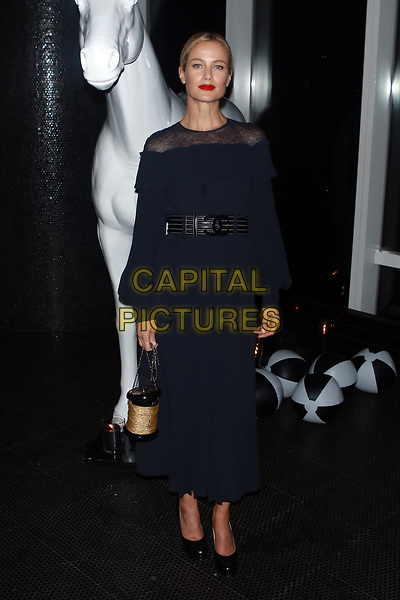 NEW YORK, NY - OCTOBER 23: Caroline Murphy at the after party for the V Magazine Dinner in honor of Karl Lagerfeld Le Bain at The Standard High Line in New York City on October 23, 2017. <br /> CAP/MPI/DIE<br /> &copy;DIE/MPI/Capital Pictures