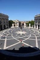 Piazza del Campidoglio. Campidoglio Square.