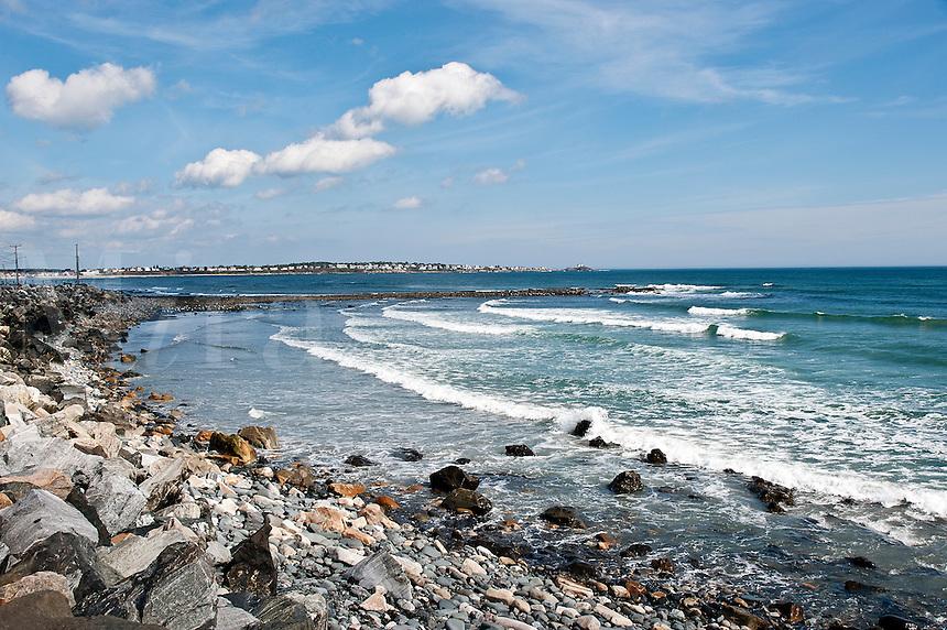 Beach, York, Maine, ME, USA