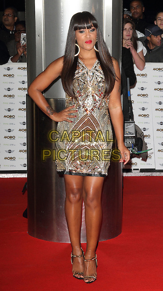 LONDON, ENGLAND - OCTOBER 22: Eve (Jihan Jeffers-Cooper) attends the MOBO Awards at SSE Arena on October 22, 2014 in London, England. <br /> CAP/ROS<br /> &copy;Steve Ross/Capital Pictures