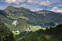 Austria, Vorarlberg, Au: resort at Bregenzerwald | Oesterreich, Vorarlberg, Au: Ferienort im Bregenzerwald