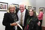 Jane Anderson, Eric O'Neill and Irene Bagnall at the Launch of Eric O'Neill's Photography Exhibition, Callans Narrow West Street...Photo NEWSFILE/Jenny Matthews.(Photo credit should read Jenny Matthews/NEWSFILE)....This Picture has been sent you under the condtions enclosed by:.Newsfile Ltd..The Studio,.Millmount Abbey,.Drogheda,.Co Meath..Ireland..Tel: +353(0)41-9871240.Fax: +353(0)41-9871260.GSM: +353(0)86-2500958.email: pictures@newsfile.ie.www.newsfile.ie.FTP: 193.120.102.198.