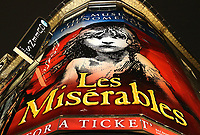 Les Miserables at the Queens theatre, Shaftesbury Avenue. London on Saturday February 10th 2018<br /> CAP/ROS<br /> &copy;ROS/Capital Pictures
