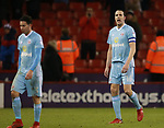 Dejected John O'Shea of Sunderland during the Championship match at Bramall Lane Stadium, Sheffield. Picture date 26th December 2017. Picture credit should read: Simon Bellis/Sportimage