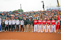 14-09-12, Netherlands, Amsterdam, Tennis, Daviscup Netherlands-Swiss, Team presentation