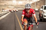Peter Stetina (USA) Trek-Segafredo attacks during Stage 4 of the 2018 Tour of Oman running 117.5km from Yiti (Al Sifah) to Ministry of Tourism. 16th February 2018.<br /> Picture: ASO/Muscat Municipality/Kare Dehlie Thorstad | Cyclefile<br /> <br /> <br /> All photos usage must carry mandatory copyright credit (&copy; Cyclefile | ASO/Muscat Municipality/Kare Dehlie Thorstad)