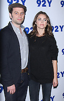NEW YORK, NY-October 30:  Matthew Rhys, Keri Russell at 92Y presents FX's series The Americans at 92nd Street Y in New York.October 30, 2016. Credit:RW/MediaPunch