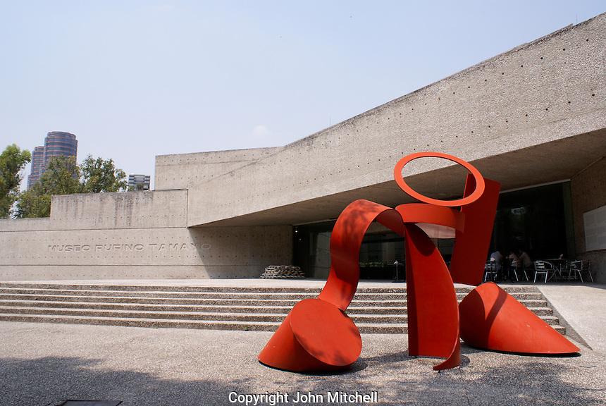 The Museo Rufino Tamayo in Chapultepec Park, Mexico City