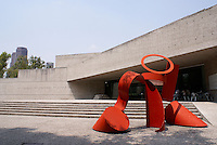 The Museo Rufino Tamayo in Chapultepec Park, Mexico City