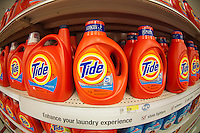 Tide detergent in the grocery department in a Target store in Elmhurst in the New York borough of Queens during the Thanksgiving weekend, on Saturday, November 26, 2011. (© Richard B. Levine)