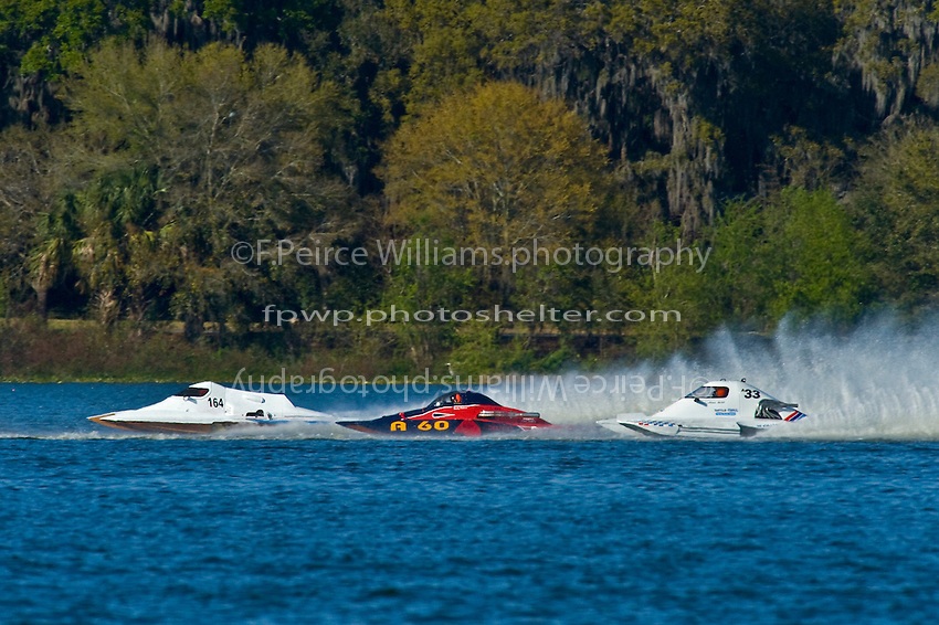 """(L to R): Jim Aid, A-33 """"In Cahoots Again"""", 2.5 Mod class hydroplane, Nicky Pellerin, A-60 """"Mr. Bud"""", 2.5 Mod hydroplane and Jim Aid, A-33 """"In Cahoots Again"""", 2.5 Mod class hydroplane."""