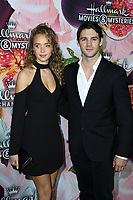 LOS ANGELES - JAN 13:  Allie Silva, Steven R McQueen at the Hallmark Channel and Hallmark Movies and Mysteries Winter 2018 TCA Event at the Tournament House on January 13, 2018 in Pasadena, CA