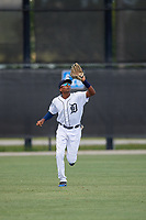 Detroit Tigers center fielder Esney Chacon (87) during an Instructional League instrasquad game on September 20, 2019 at Tigertown in Lakeland, Florida.  (Mike Janes/Four Seam Images)