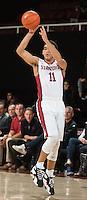 Stanford, CA; Sunday November 15, 2015; Men's Basketball, Stanford vs. Charleston Southern