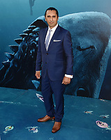 HOLLYWOOD, CA - AUGUST 06: Cliff Curtis attends the premiere of Warner Bros. Pictures and Gravity Pictures' Premiere of 'The Meg' at the TLC Chinese Theatre on August 06, 2018 in Hollywood, California.<br /> CAP/ROT/TM<br /> &copy;TM/ROT/Capital Pictures