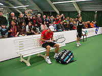 19-01-14,Netherlands, Rotterdam,  TC Victoria, Wildcard Tournament, ,   Final,  Alban Meuffels (NED)    <br /> Photo: Henk Koster