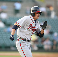 Wes Timmons of the Richmond Braves vs. the Rochester Red Wingss:  May 31st, 2007 at Frontier Field in Rochester, NY. Photo By Mike Janes/Four Seam Images