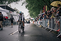 Sergio Henao (COL/SKY) rolling in<br /> <br /> 104th Tour de France 2017<br /> Stage 1 (ITT) - D&uuml;sseldorf &rsaquo; D&uuml;sseldorf (14km)