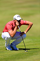 Haydn Porteous (RSA) during the second round of the Lyoness Open powered by Organic+ played at Diamond Country Club, Atzenbrugg, Austria. 8-11 June 2017.<br /> 09/06/2017.<br /> Picture: Golffile | Phil Inglis<br /> <br /> <br /> All photo usage must carry mandatory copyright credit (&copy; Golffile | Phil Inglis)