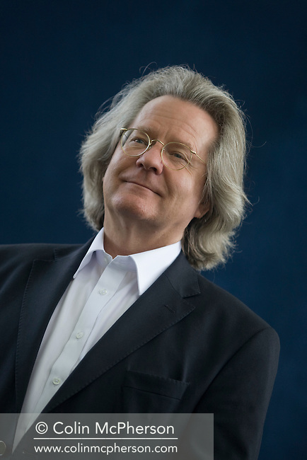 Acclaimed British philosopher and writer A C Grayling, pictured at the Edinburgh International Book Festival where he talked about his work. The three-week event is the world's biggest literary festival and is held during the annual Edinburgh Festival. The 2009 event featured talks and presentations by more than 500 authors from around the world.