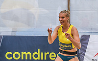 19th July 2020; Dusselldorf, Germany; Comdirect beach volleyball tour;  Sarah Schneider