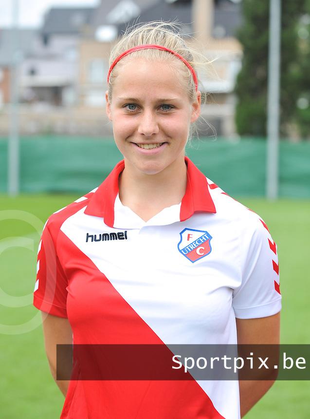 FC Utrecht Dames : Pien Schlosser.foto DAVID CATRY / Vrouwenteam.be
