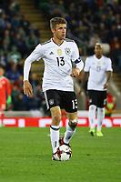 Thomas Müller (Deutschland Germany) - 05.10.2017: Nordirland vs. Deutschland, WM-Qualifikation Spiel 9, Windsor Park Belfast