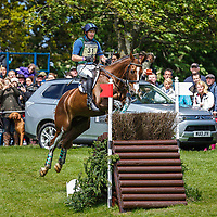 AUS-Peter Atkins (HENRY JOTA HAMPTON) RETIRED: CROSS COUNTRY: 2014 GBR-CCI4* Mitsubishi Motors Badminton International Horse Trial (Saturday 10 May) CREDIT: Libby Law COPYRIGHT: LIBBY LAW PHOTOGRAPHY - NZL