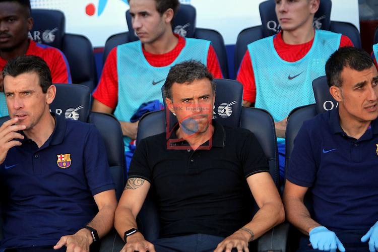 League Santander 2016/2017. Game: 1.<br /> FC Barcelona vs Real Betis: 6-2.<br /> Luis Enrique Martinez.