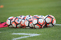 Philadelphia, PA - Tuesday June 14, 2016: Copa America balls prior to a Copa America Centenario Group D match between Chile (CHI) and Panama (PAN) at Lincoln Financial Field.