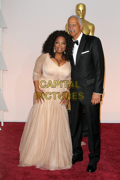 22 February 2015 - Hollywood, California - Stedman Graham, Oprah Winfrey. 87th Annual Academy Awards presented by the Academy of Motion Picture Arts and Sciences held at the Dolby Theatre. <br /> CAP/ADM<br /> &copy;AdMedia/Capital Pictures Oscars