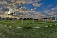 General view of Castle Bar, home of Ealing Trailfinders, ahead of the Greene King IPA Championship match between Ealing Trailfinders and London Welsh RFC at Castle Bar , West Ealing , England  on 26 November 2016. Photo by David Horn / PRiME Media Images