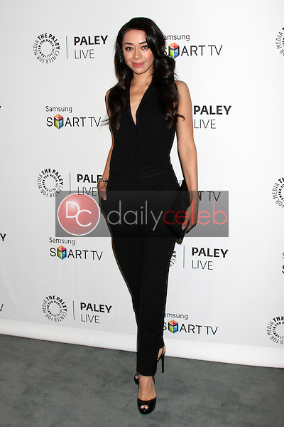 """Aimee Garcia<br /> at the PaleyFest Fall Previews:  Fall Farwell - """"Dexter,"""" Paley Center for Media, Beverly Hills, CA 09-12-13<br /> David Edwards/DailyCeleb.Com 818-249-4998"""