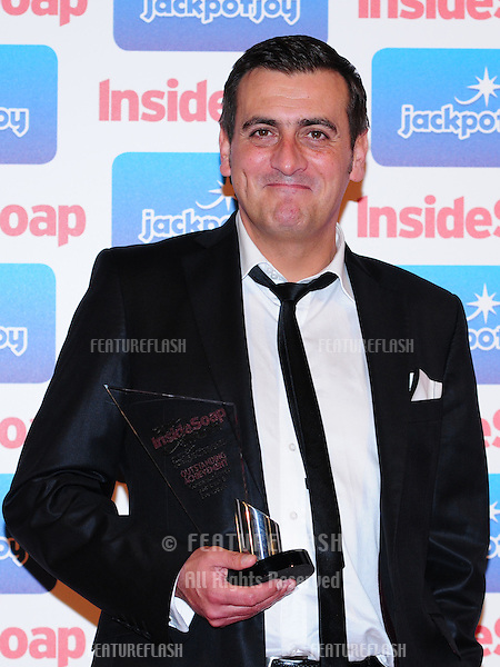 Chris Gascoyne arriving for the Inside Soap Awards 2011 at Gilgamesh, Camden, London. 26/09/2011 Picture by: Simon Burchell /  Featureflash