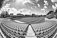 A fish eye view of Lord's, the home of cricket during Middlesex vs Lancashire, Royal London One-Day Cup Cricket at Lord's Cricket Ground on 10th May 2019