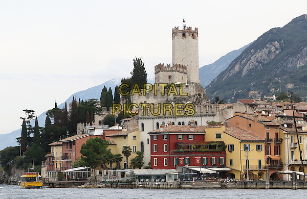 LAGO DI GARDA, ITALY - Views in the streets and around the harbour in Malcesine on 17 October 2015 in Lago di Garda, Italy<br /> <br /> CAP/ROS<br /> &copy;ROS/Capital Pictures