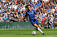 David Luiz of Chelsea in action during Chelsea vs Manchester City, FA Community Shield Football at Wembley Stadium on 5th August 2018