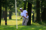 Seve Benson (ENG) chips out of the rough at the 4th green during Day 3 of the BMW Italian Open at Royal Park I Roveri, Turin, Italy, 11th June 2011 (Photo Eoin Clarke/Golffile 2011)