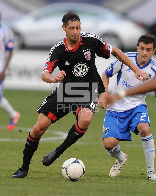 D.C. United midfielder Branko Boskovic (8) D.C. United defeated Montreal Impact 3-0 at RFK Stadium, Saturday June 30, 2012.