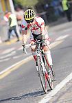 November 12 2011 - Guadalajara, Mexico:  Jaye Milley during his Road Race at the 2011 Parapan American Games.  Photos: Matthew Murnaghan/Canadian Paralympic Committee
