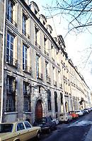 Paris: Quai de Bourbon, 17th C. Ile Saint Louis. Luxury apartments.